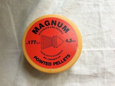 David Nickerson Magnum Pointed Pellets .177 4.5 mm x500