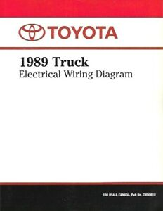 1989 Toyota Truck Electrical Wiring Diagram Manual ...