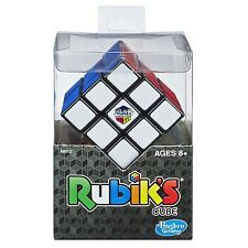 Real Original Rubik's Cube Game Rubix Rubic's 3x3 With Base Stand Puzzle - New