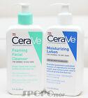 CeraVe Foaming Cleanser & Moisturising Lotion Set (355ml each Normal/Oily Skin)