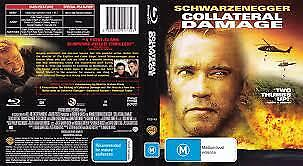 1 of 1 - COLLATERAL DAMAGE BLU-RAY, LIKE NEW, REGION B, FREE POST