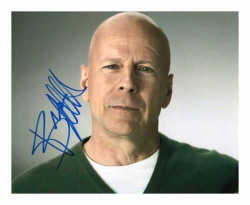 BRUCE WILLIS AUTOGRAPHED SIGNED A4 PP POSTER PHOTO PRINT 7