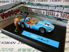 voiture altaya IXO 1/43 diorama MICHEL VAILLANT :LE MANS '61 n°1