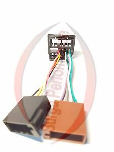 Quadlock-ISO-Auto-Radio-Adapter-Kabel-VW-Bj-2002-Caddy-Crafter-Cross-Polo-EOS