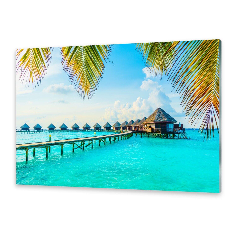 Acrylglasbilder Wandbild aus Plexiglas® Bild Tropische Malediven