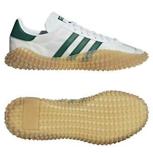 ADIDAS-ORIGINALS-Homme-COUNTRY-X-Kamanda-Chaussures-Blanc-Baskets-Rare-Deadstock-NEUF