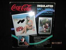 Coca Cola Insulated Bag / Radio with Headphones New in Box