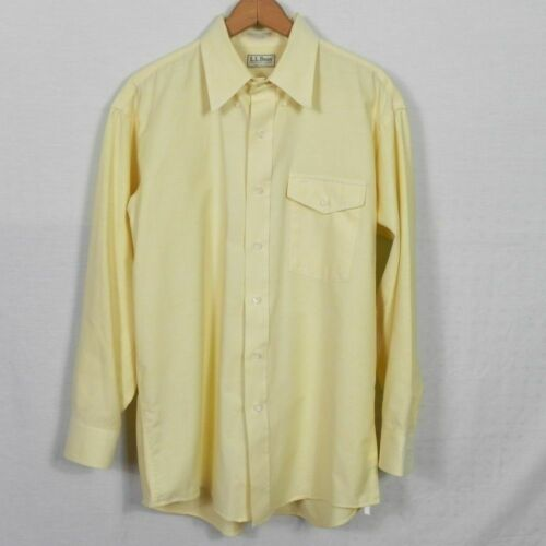 Vintage 90s Butter Yellow Short Sleeve Mother of Pearl Button Front Floral Dress