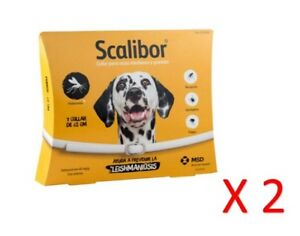 COLLAR ANTIPARASITARIO scalibor 65 Cm (Pack 2)