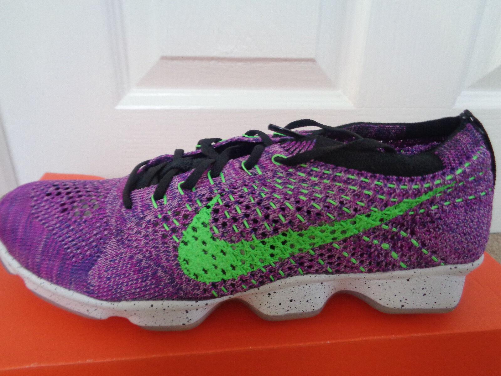Nike Flyknit Zoom Agility trainers sneakers 698616 501 uk 4.5 eu 38 us 7 NEW+BOX