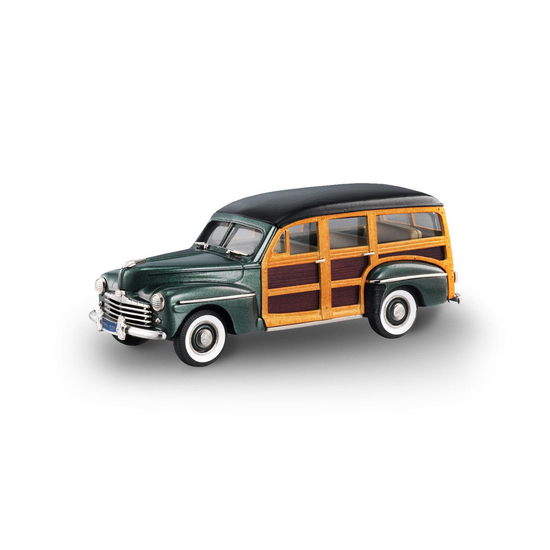 Brooklin Models 1947 Ford V8 Station Wagon - BRK83A - Parrouge vert Poly