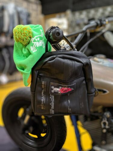 Guy Martin/'s Kids Inner tube backpack and Reactor No.4 bobble hat bundle!