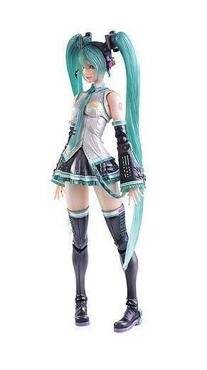 Officially Licensed Vocaloid Hatsune Miku Play Arts Kai Action Figure