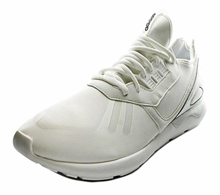 Adidas Originals Tubular Runner; White-Whiteout-Nero; Uomo SIZE 9, 9.5, 10