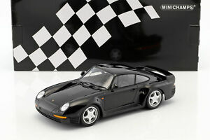Promo-Porsche-959-Black-Of-1987-to-the-Of-1-18-Of-MINICHAMPS-155066207