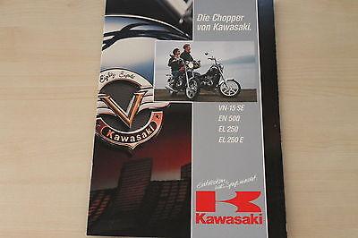 Manuals & Literature Latest Collection Of 169508 Kawasaki Vn-15 Se En 500 El 250 250 E Prospekt 11/1991 Parts & Accessories