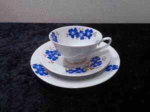 GDR-Colditz-Design-Porcelain-Collector-039-s-Place-Setting-S-Vintage-around-1970