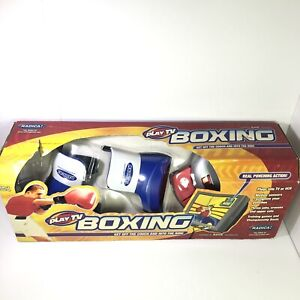 PLAY TV BOXING GET OFF THE COUCH AND INTO THE RING By RADICA - VINTAGE/NEW