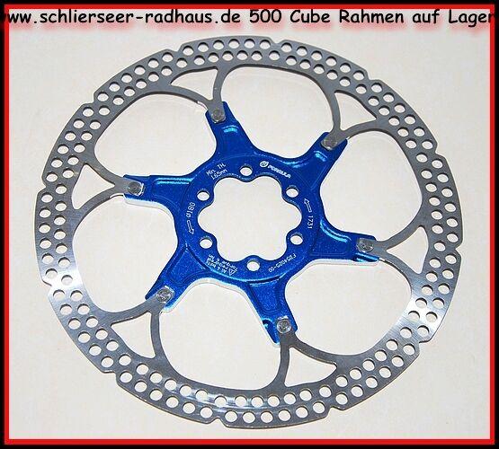 Formula R1 Bremsscheibe zweiteilig MTB Fullsuspension 160 mm blueeeeeeee Disc