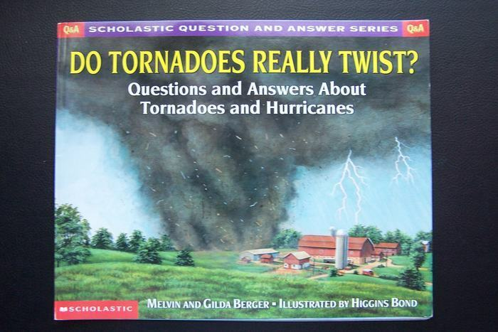 Scholastic Question & Answer: Do Tornadoes Really Twist