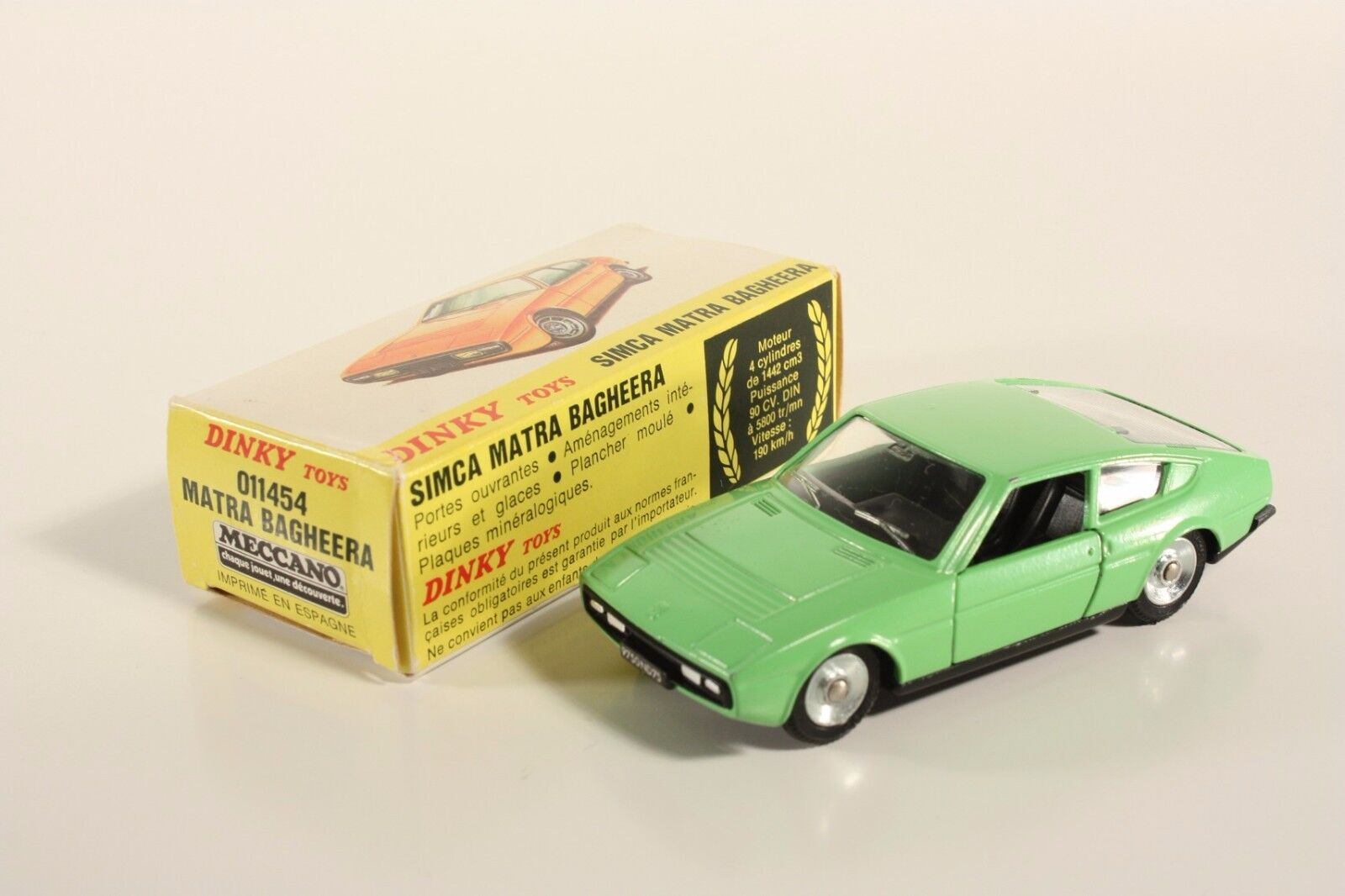 DINKY TOYS 011454, Matra sacheera, Comme neuf Dans Box   ab2076  magasin en ligne