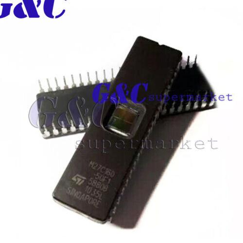 1//5//10PCS M27C160-50F1 ST IC EPROM UV 16 MBIT 100 NS 42 CDIP M27C160 NEUF D70