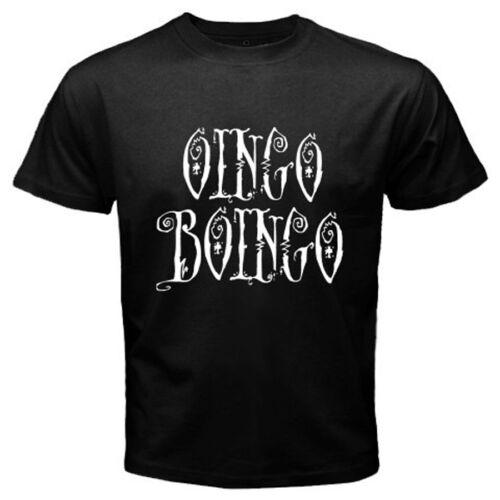 Oingo Boingo Logo New Wave Logo Men/'s Black T-Shirt Size S M L XL 2XL 3XL