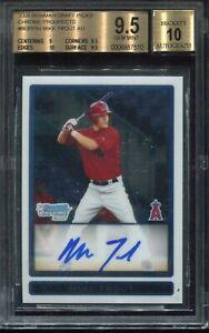 2009-Bowman-Draft-Mike-Trout-Auto-Autograph-BGS-9-5-Gem-Mint-w-10-Autograph