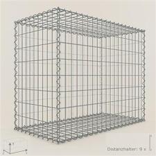 GABIONE / Steinkorb 100 x 80 x 50 cm, Maschenweite 5 x 10 cm, Gabionen