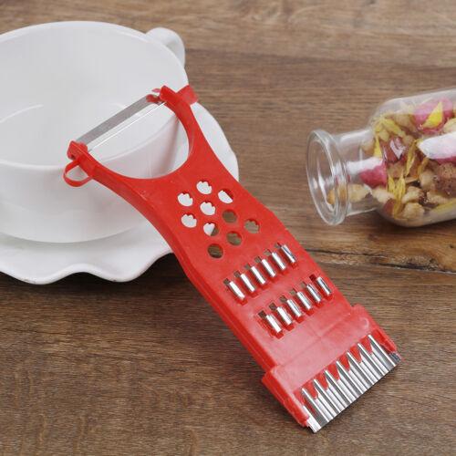 1*Home kitchen tools vegetable fruit potato peeler parer julienne cutter slicer`