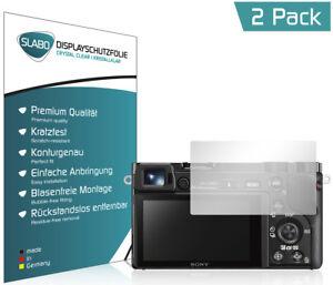 4-x-Slabo-Displayschutzfolie-Sony-Alpha-6000-6300-6500-034-Crystal-Clear-034