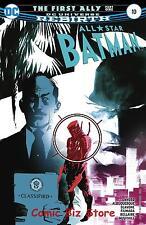 ALL STAR BATMAN #10 (2017) 1ST PRINTING DC UNIVERSE REBIRTH