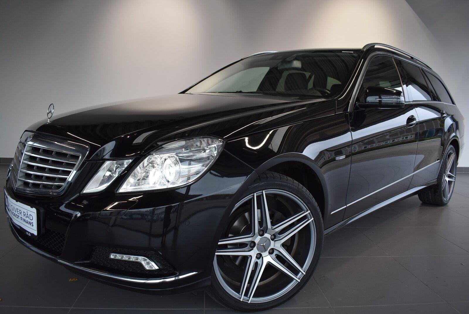Mercedes E220 2,2 CDi Elegance stc. aut. BE 5d - 159.900 kr.
