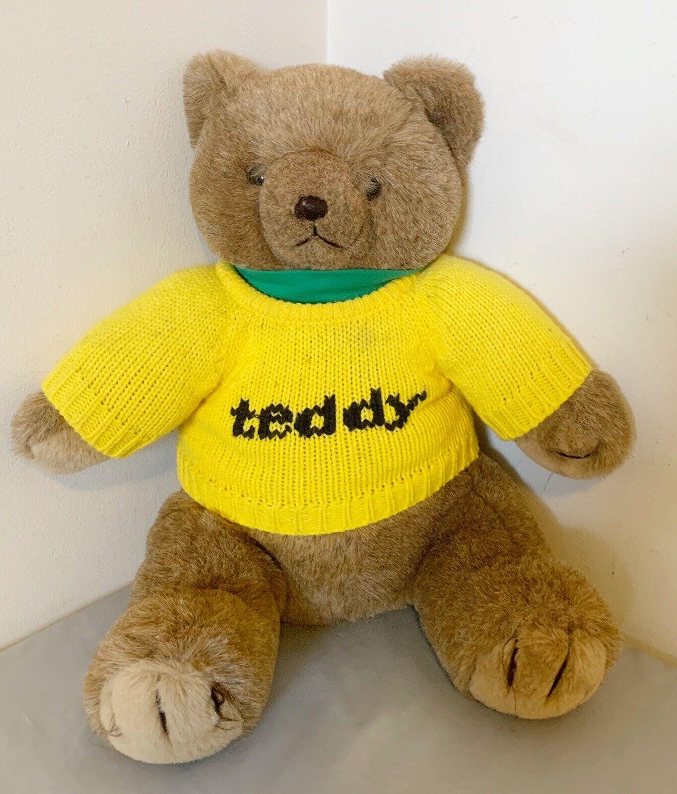 "Vintage Teddy Bear ""Teddy"" Robert Chenaux Original President Collection VG"
