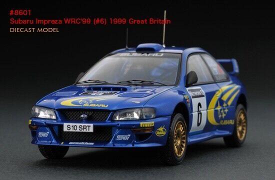 HPI Great Britain Rally Subaru Impreza RS WRX STI WRC '99 1 43