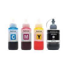 Epson T664 T774 EcoTank Compatible Ink Refill 70/140mL ET-2500/2600/4500/L100