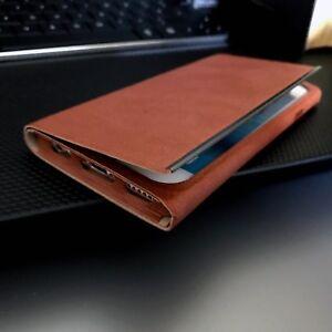 Apple-Iphone-6-Wrap-Folio-Pro21-Wallet-Flip-Case-SwitchEasy-Light-Brown