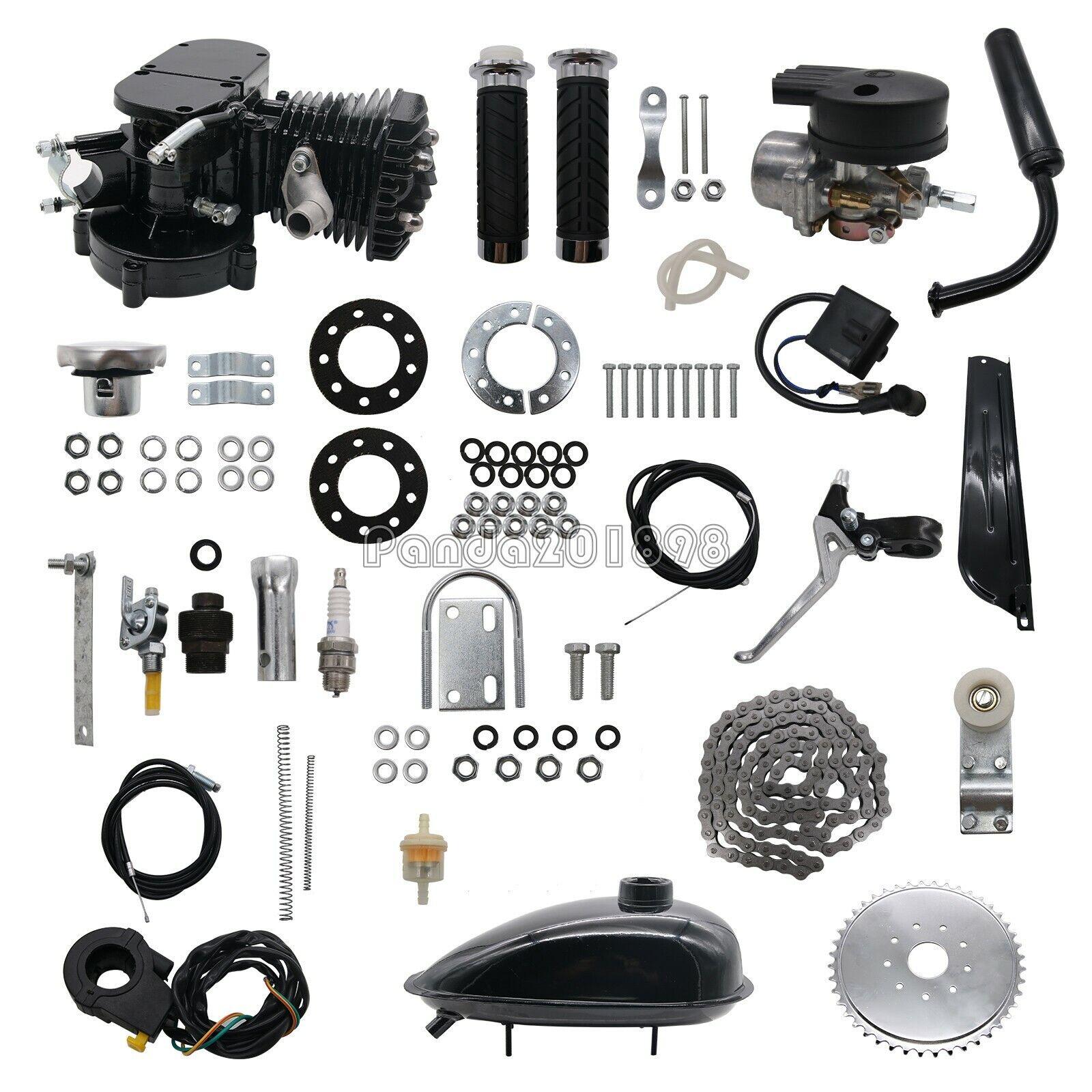 80cc Engine motor kit 2-stroke gas engine for DIY Motorized Bicycle bike uk1898