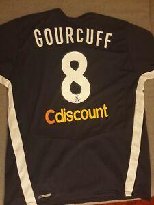 Maillot Girondins Bordeaux Puma domicile 2008/2009 #8 GOURCUFF taille XL
