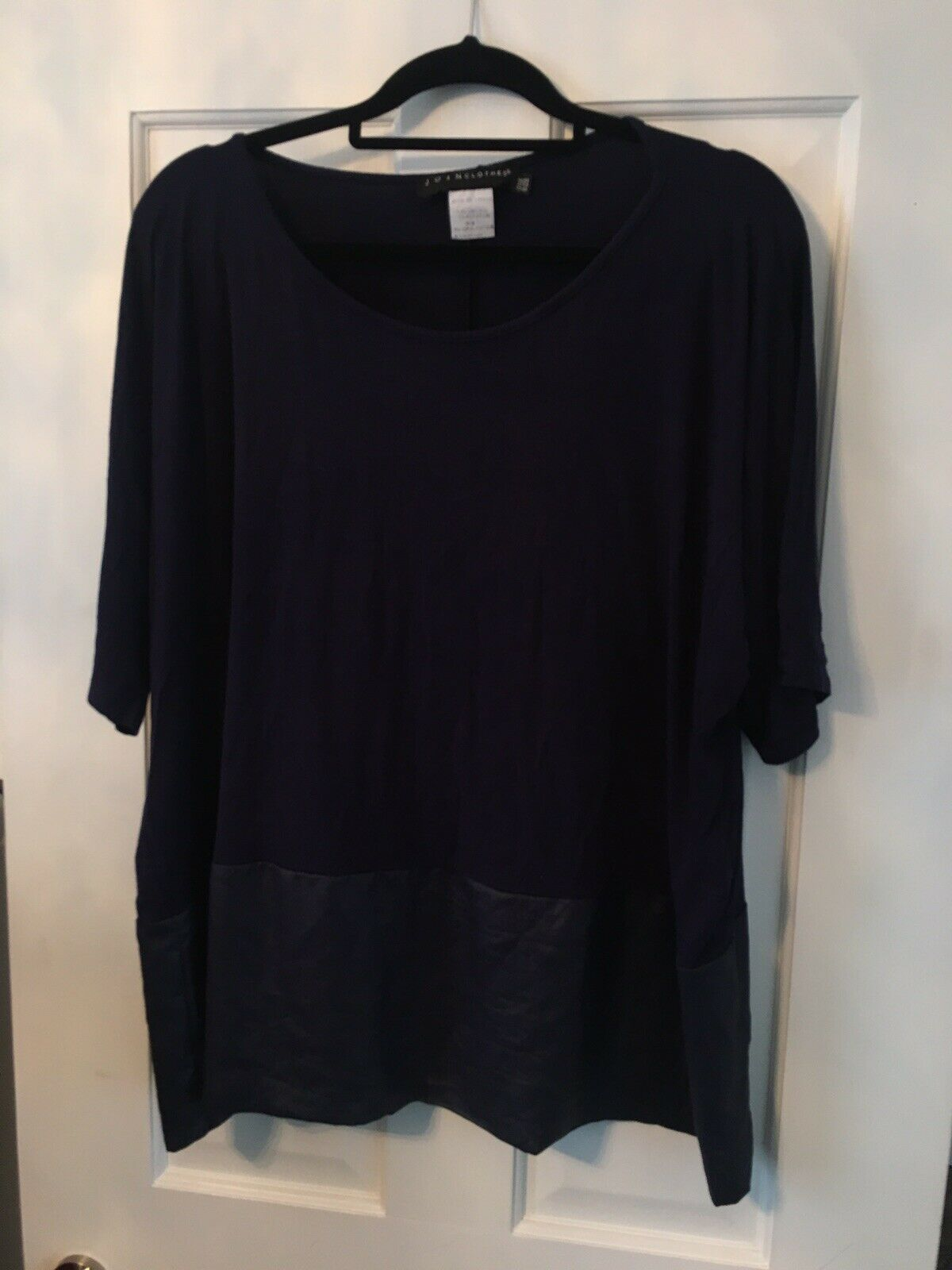 YONG KIM NAVY blueE TOP ONE SIZE