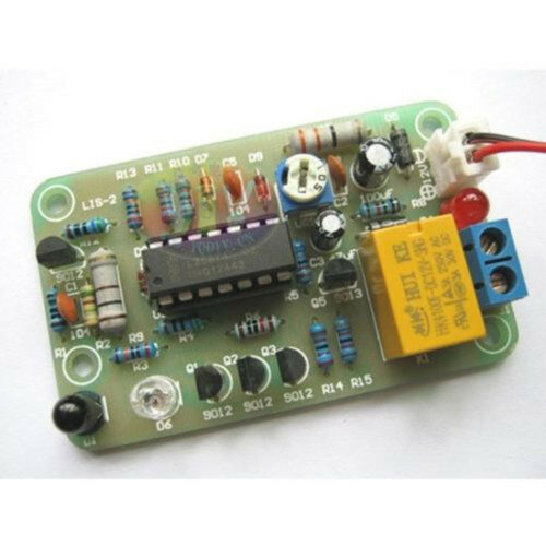 Human Infrared Switch DIY Kit Infrared Sensor Switch Electronic Production Suite