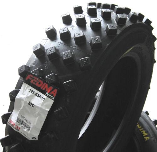 Fedima 185//60r14-4 séries 17//61-14 MC sandcross galeries pneus autocross