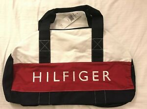 Image is loading Tommy-Hilfiger-Medium-Duffle-Bag-Unisex-Mens-Womens- a1f9673165349