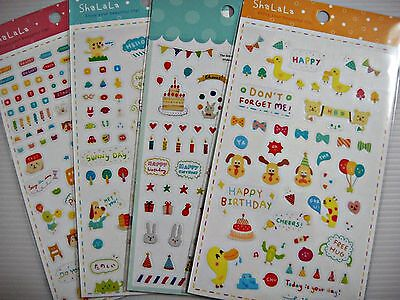 4 Sheets Diy Diary Planner Emotion Reminder Craft Art Deco Scapbook Stickers