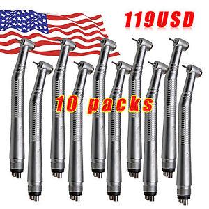 119$! USA Sale!10* NSK Style Dental High Speed Handpiece Push 4Hole SEASKY-04 612292518059