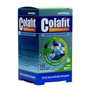 Genuine-Apotex-Colafit-Pure-Collagen-Joints-Bones-Skin-120-crystals-cube-vitamin