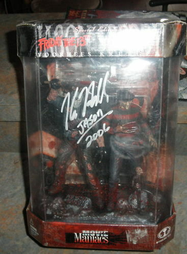 FRIDAY THE 13TH JASON & FROTDY AUTOGRAPH  KANE HODDER