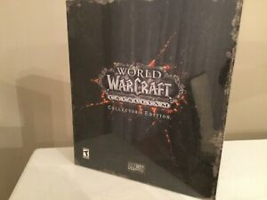 World-of-Warcraft-Cataclysm-Collector-039-s-Edition-WOW-Windows-Mac-NEW-Sealed