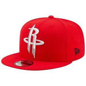 Houston-Rockets-New-Era-Threads-9FIFTY-Snapback-Hat-Red