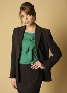 Ladies-Skopes-3-Button-Jacket-Danielle-Navy-WWJ331-SIZE-8-R-BRAND-NEW-BOX8508-O